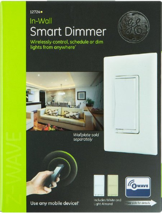 GE 12724 Smart Wall Switch Dimmer