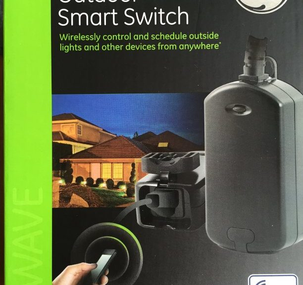GE 12720 OUTDOOR SMART SWITCH