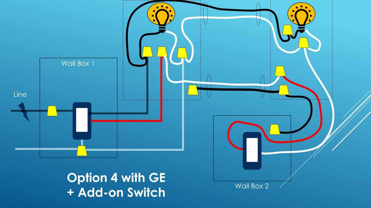 Ge Three Way Switch Installation W Smart Add On Diy